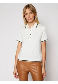Biała koszulka polo Luisa Spagnoli polo