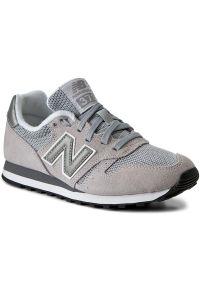 Szare buty sportowe New Balance z cholewką, New Balance 373
