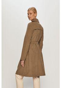 Zielony płaszcz Vero Moda na co dzień, casualowy, gładki