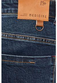 Niebieskie jeansy medicine casualowe, na co dzień