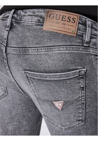 Guess Jeansy Super Skinny Fit Chris M0YA27 D4381 Szary Super Skinny Fit. Kolor: szary. Materiał: jeans #5