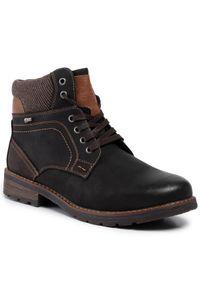 Czarne buty zimowe Go Soft z cholewką, klasyczne