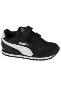 Czarne sneakersy Puma z cholewką