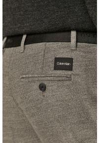 Szare spodnie Calvin Klein