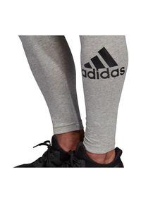 Adidas - Legginsy damskie adidas DU0006. Materiał: elastan, bawełna, materiał. Sport: fitness