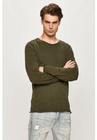 Only & Sons - Sweter. Okazja: na co dzień. Kolor: zielony. Materiał: dzianina. Styl: casual