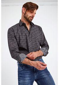 Karl Lagerfeld - KOSZULA KARL LAGERFELD. Długość rękawa: długi rękaw. Długość: długie