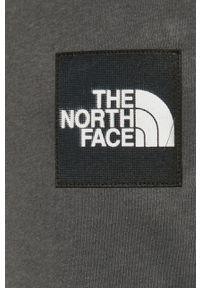 Szare spodnie dresowe The North Face #4