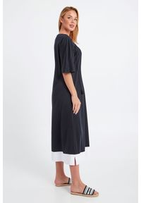 Sukienka Max Mara Beachwear midi, na lato, w kształcie A