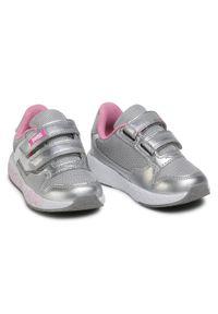 Primigi - Sneakersy PRIMIGI - 7453700 Argent. Zapięcie: rzepy. Kolor: srebrny. Materiał: skóra ekologiczna, materiał. Szerokość cholewki: normalna