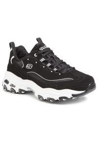Czarne sneakersy skechers