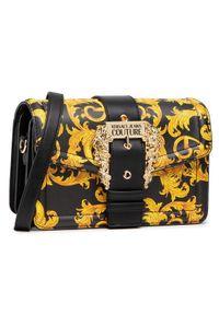 Versace Jeans Couture Torebka E1VWABF1 Czarny. Kolor: czarny