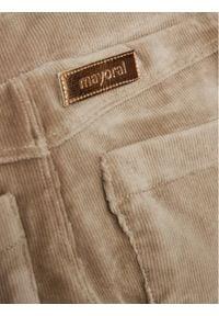 Mayoral Spodnie materiałowe 714 Brązowy Regular Fit. Kolor: brązowy. Materiał: materiał #5