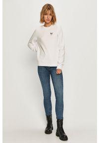 Biała bluza Karl Lagerfeld casualowa, na co dzień, z aplikacjami #6