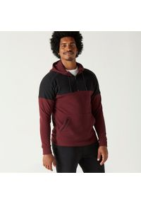 NYAMBA - Bluza z kapturem fitness. Typ kołnierza: kaptur. Kolor: czarny, wielokolorowy, czerwony. Materiał: poliester, elastan, bawełna, materiał. Sezon: zima. Sport: fitness