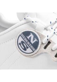 North Sails Sneakersy RW-04 First Biały. Kolor: biały #5