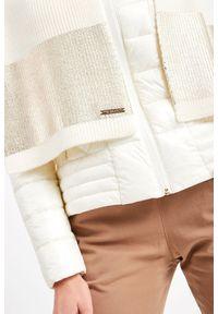 Chusta Trussardi Jeans na zimę, w kolorowe wzory