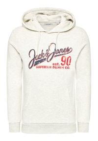 Jack & Jones - Jack&Jones Bluza Logo 12172349 Szary Regular Fit. Kolor: szary