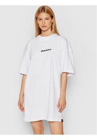 Dickies Sukienka codzienna Loretto Biały Regular Fit. Okazja: na co dzień. Kolor: biały. Typ sukienki: proste. Styl: casual