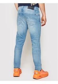 G-Star RAW - G-Star Raw Jeansy 3301 51001-B631-C457 Niebieski Slim Fit. Kolor: niebieski