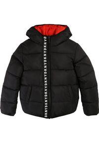 Czerwona kurtka zimowa DKNY