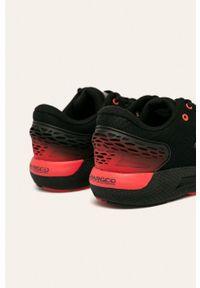 Czarne sneakersy Under Armour do biegania, z cholewką