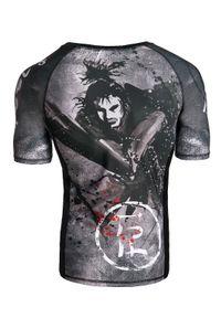 Koszulka sportowa FJ! krótka, z krótkim rękawem, z nadrukiem