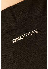 Only Play - Szorty. Okazja: na co dzień. Kolor: czarny. Materiał: dzianina, poliester, bawełna. Wzór: gładki. Styl: casual #3