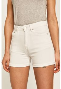 Białe szorty Pepe Jeans casualowe, na co dzień