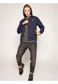 Lacoste Bluza SH1551 Granatowy Regular Fit. Kolor: niebieski