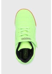 Kappa - Buty dziecięce Furbo. Nosek buta: okrągły. Zapięcie: rzepy. Kolor: zielony. Materiał: syntetyk, skóra ekologiczna, materiał. Szerokość cholewki: normalna #2