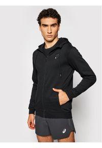 Asics Bluza Chest Logo 2031A974 Czarny Regular Fit. Kolor: czarny