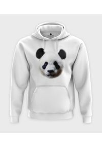 MegaKoszulki - Bluza z kapturem Panda. Typ kołnierza: kaptur