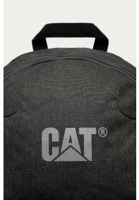 Szary plecak CATerpillar z nadrukiem