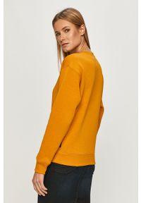G-Star RAW - G-Star Raw - Bluza. Okazja: na co dzień. Kolor: żółty. Długość rękawa: długi rękaw. Długość: długie. Wzór: aplikacja. Styl: casual