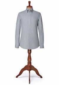 Szara koszula Lancerto na zimę, vintage
