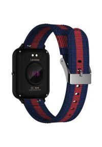 Czarny zegarek LENOVO smartwatch, sportowy