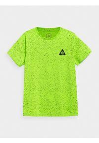 Zielony t-shirt 4f