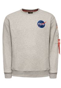 Alpha Industries Bluza Space Shuttle 178307 Szary Regular Fit. Kolor: szary