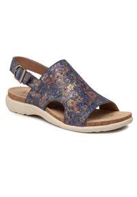 Fioletowe sandały Josef Seibel