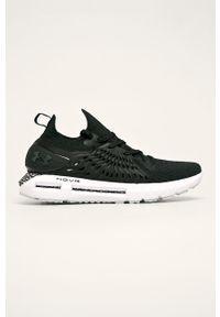 Czarne buty sportowe Under Armour z okrągłym noskiem, z cholewką