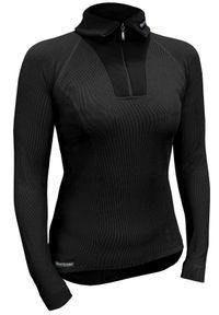Koszulka termoaktywna Berkner Action RSUWP. Typ kołnierza: golf. Materiał: dzianina, skóra, materiał