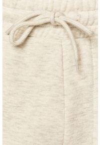 Jack & Jones - Spodnie. Kolor: biały. Materiał: dzianina, poliester, bawełna. Wzór: gładki #3