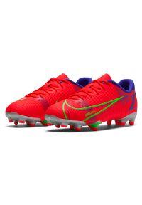 Buty piłkarskie dla dzieci Nike Jr Mercurial Vapor 14 Academy FG/MG CV0811. Zapięcie: zamek. Materiał: skóra, materiał, syntetyk. Szerokość cholewki: normalna. Sport: piłka nożna