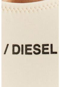 Diesel - Strój kąpielowy. Kolor: beżowy. Materiał: dzianina. Wzór: nadruk