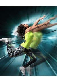 Biustonosz sportowy FJ! z nadrukiem, na jogę i pilates