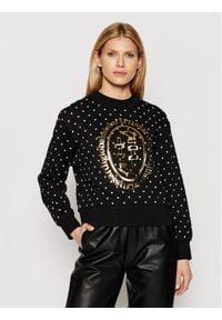 Trussardi Jeans - Trussardi Bluza 56F00131 Czarny Relaxed Fit. Kolor: czarny