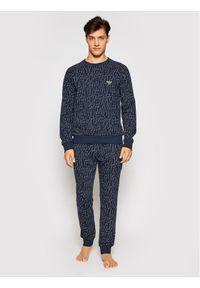 Emporio Armani Underwear Bluza 111062 1P566 15735 Granatowy Regular Fit. Kolor: niebieski