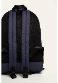Niebieski plecak Diesel w paski