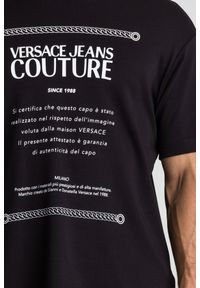 T-shirt Versace Jeans Couture w kolorowe wzory